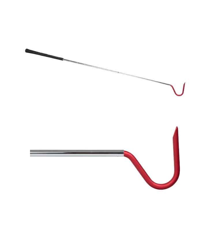 "Herpetological Hooks Stainless Steel For Snake Capture Aluminum Hook 2 1/4 "" Synergy Supplies - 2"