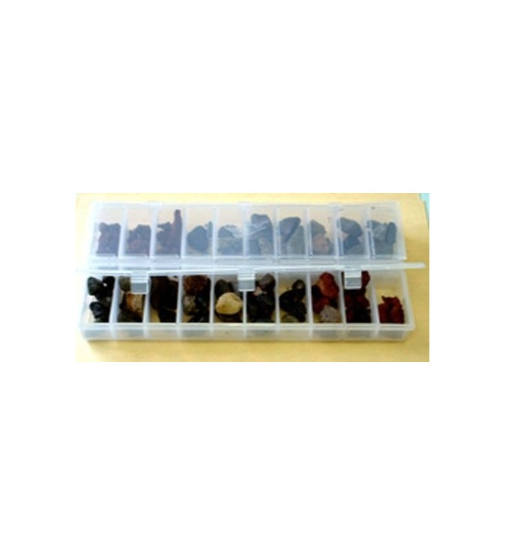 20 Compartment Geological Sample and Sediment Storage Boxes Synergy Supplies - 1