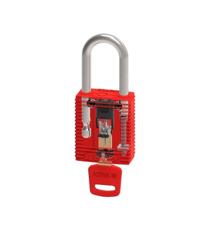 Nylon Padlocks for SafeKey Premium Advanced Locking Brady - 1