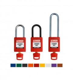 Nylon Padlocks for SafeKey Premium Advanced Locking Brady - 2