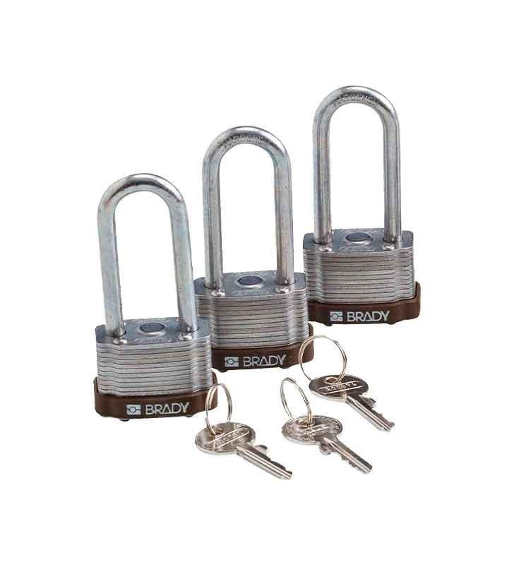 Brady Padlock For Corrosion Resistant Lock Brady - 1