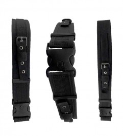 Nylon Mining Belt Self Rescue Straps And Battery Holder And Buckle With Triple Safety Synergy Supplies - 1
