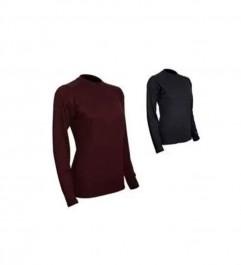 Long Sleeve Shirt Extreme Weather Man 7.5 Ounces Woman Quattro Fleece Polarmax Polarmax - 1
