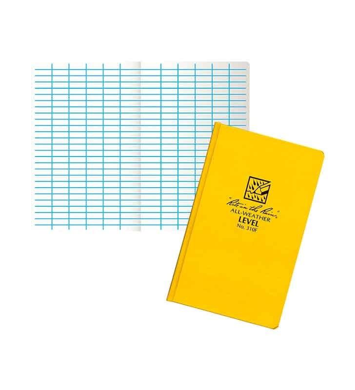 Rite In The Rain 310F Level Yellow Fabrikoid Notebook Rite In The Rain - 1