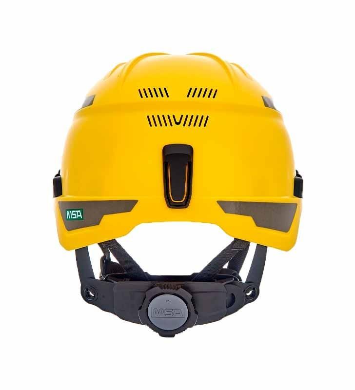 H1 MSA Helmet For Heights V-Gard Trivent MSA - 2