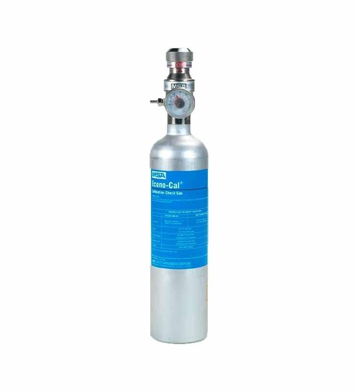 Cylinder RP Econo-Cal MSA Gas Test Standard MSA - 2