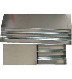 Cajas De Nucleos Metalicas NQ, HQ y NTW Para Almacenamiento De Muestras Synergy Supplies - 1