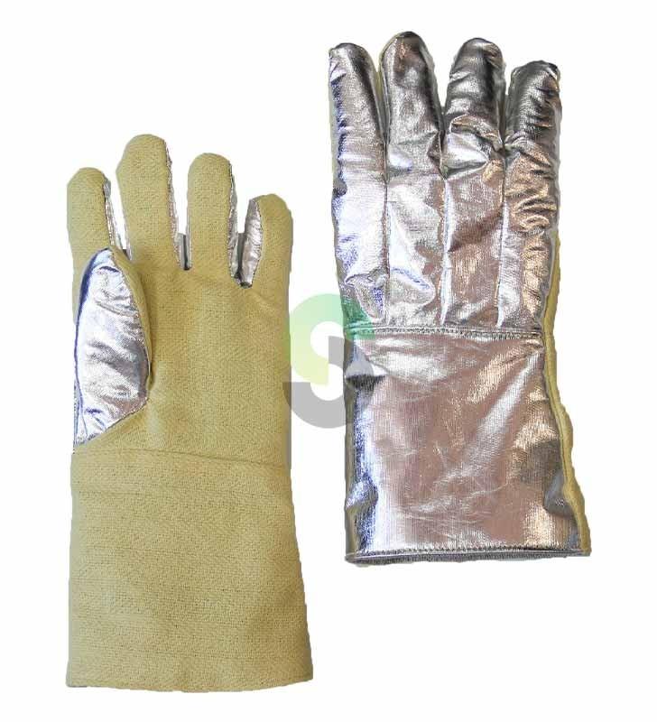 Aluminized Gloves Synergy Supplies - 1