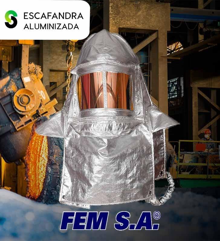 Traje Aluminizado FEM S.A FEM S.A - 2