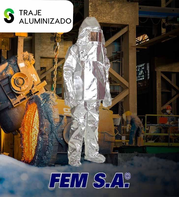 Traje Aluminizado FEM S.A FEM S.A - 1