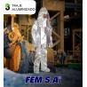 Aluminized Suit FEM SA