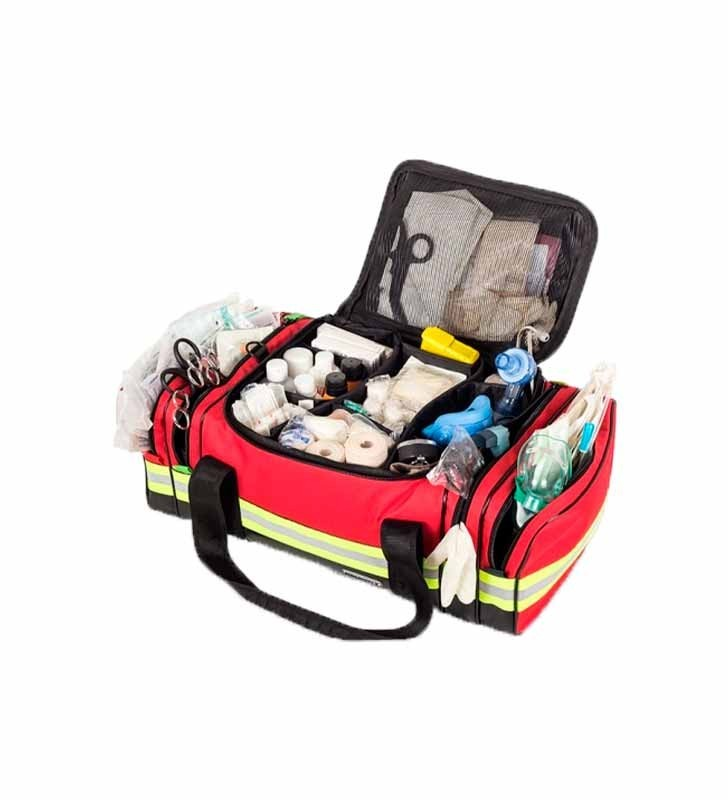 Red Emergency First Aid Case Elite Bags - 1