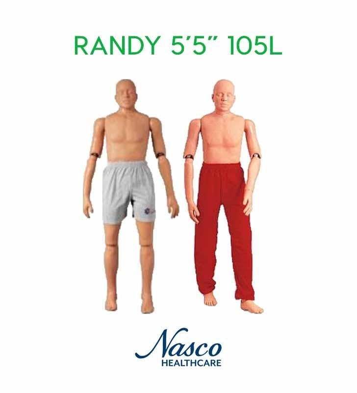 "Randy Nasco 5'5 ""105 Pound Rescue Mannequin NASCO - 1"