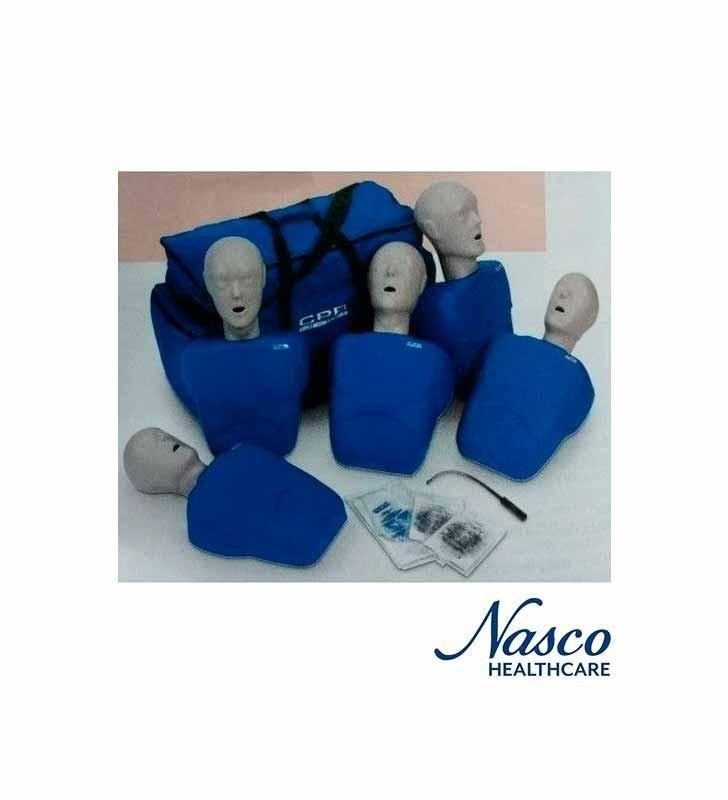 Nasco LF06050U Maniquí Entrenamiento Y Practica Cpr Prompt Tpak 5o NASCO - 1