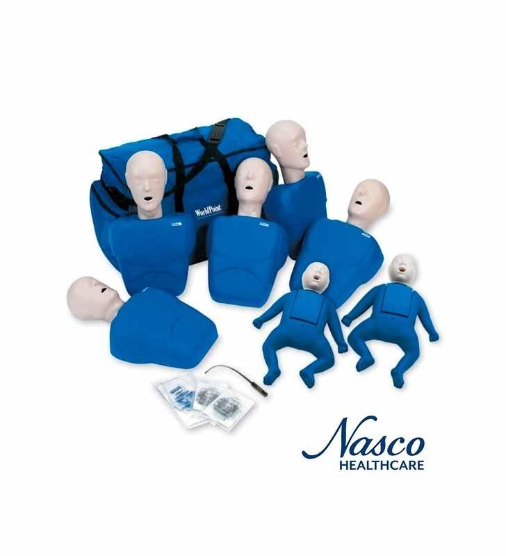 Nasco LF06050U Maniquí Entrenamiento Y Practica Cpr Prompt Tpak 5o NASCO - 2