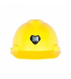 MSA V-GARD White Cap Type Helmet With Lamp Holder MSA - 2