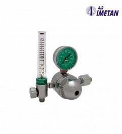 Regulador Flujometro Oxigeno CGA540 Air Imetan R-402 M1R0402  - 1