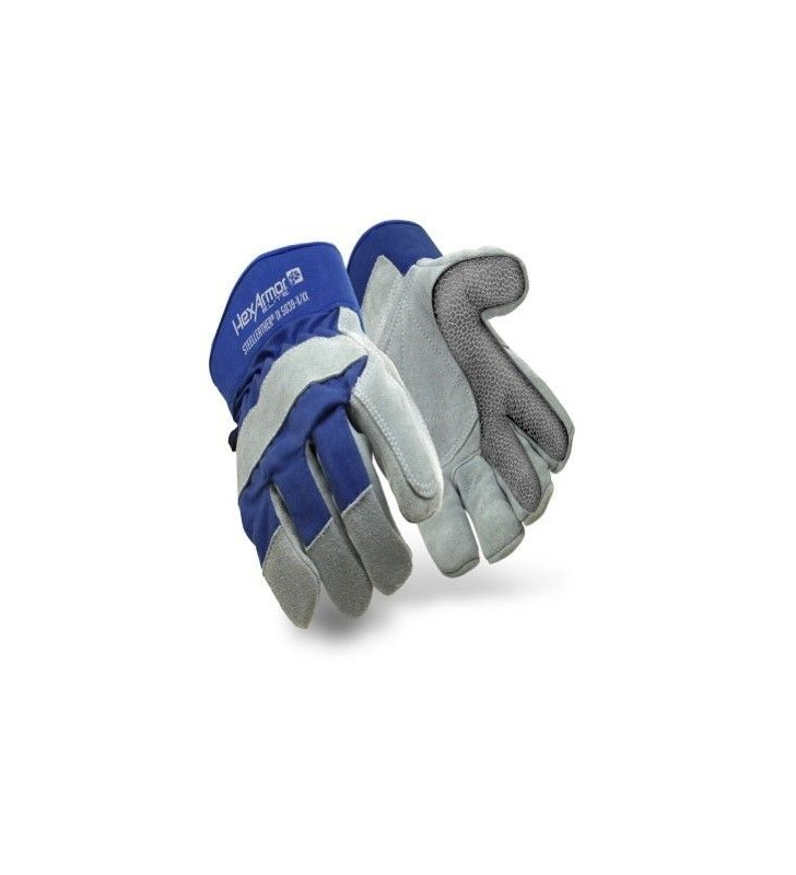 HexArmor SteelleatherIX High Temperature Gloves Hexarmor - 1