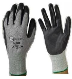 Titanium Coated Gloves Titanium - 1