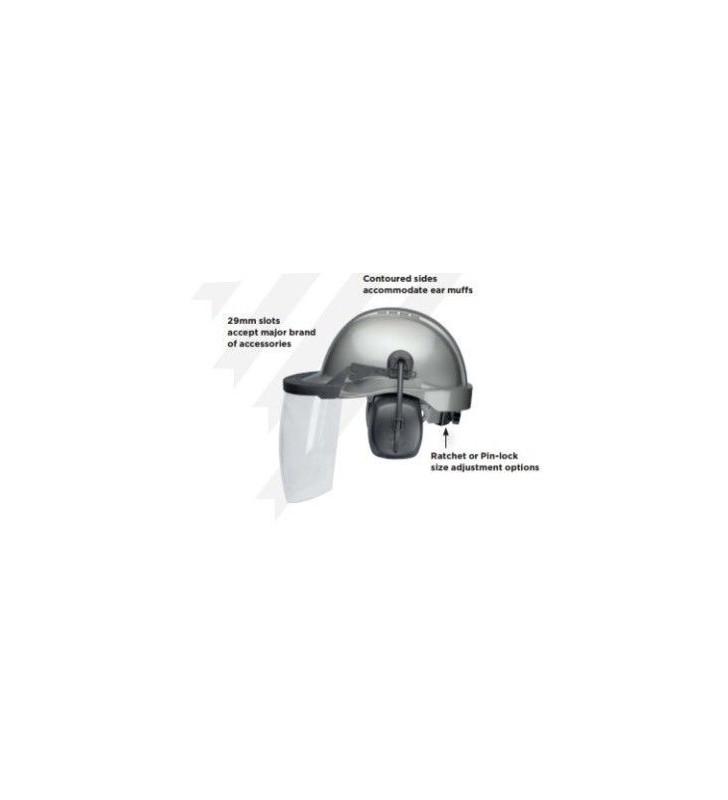 Tectracon Acc Industrial Construction Helmet Elvex - 1