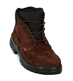 Zafra Café Nobuck Boots Synergy Supplies - 1