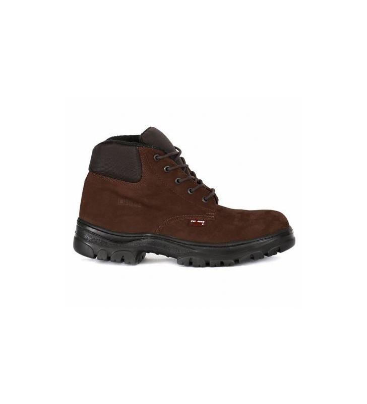 Zafra Café Nobuck Boots Synergy Supplies - 2
