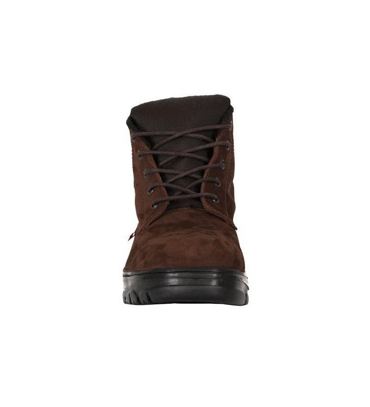 Zafra Café Nobuck Boots Synergy Supplies - 3