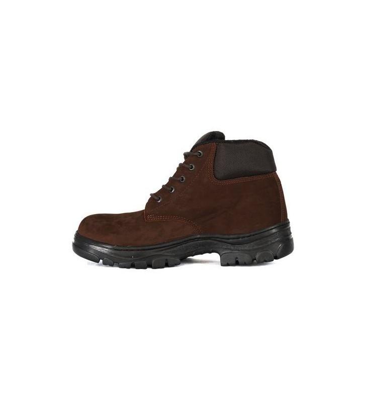 Zafra Café Nobuck Boots Synergy Supplies - 4