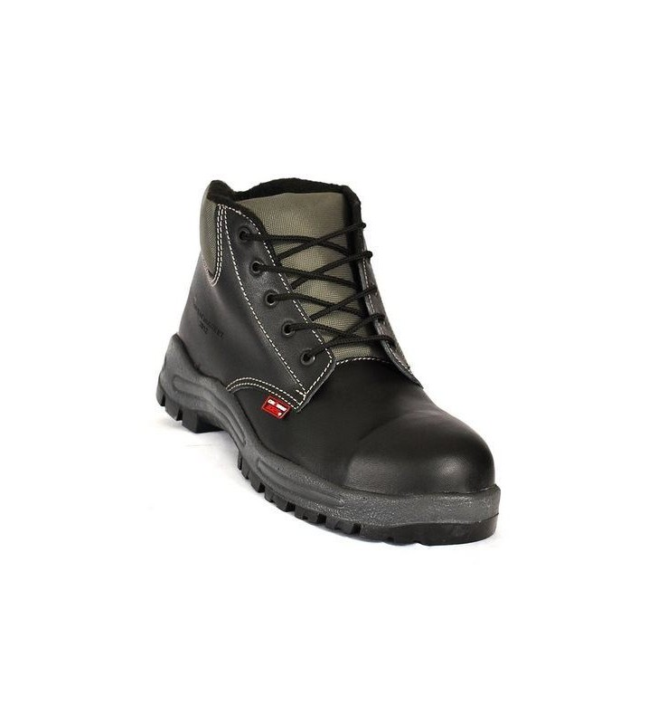 Zafra Black PU Boots Synergy Supplies - 1