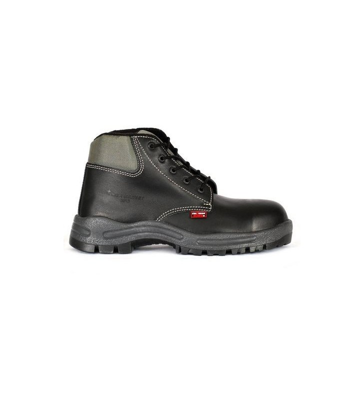 Zafra Black PU Boots Synergy Supplies - 2