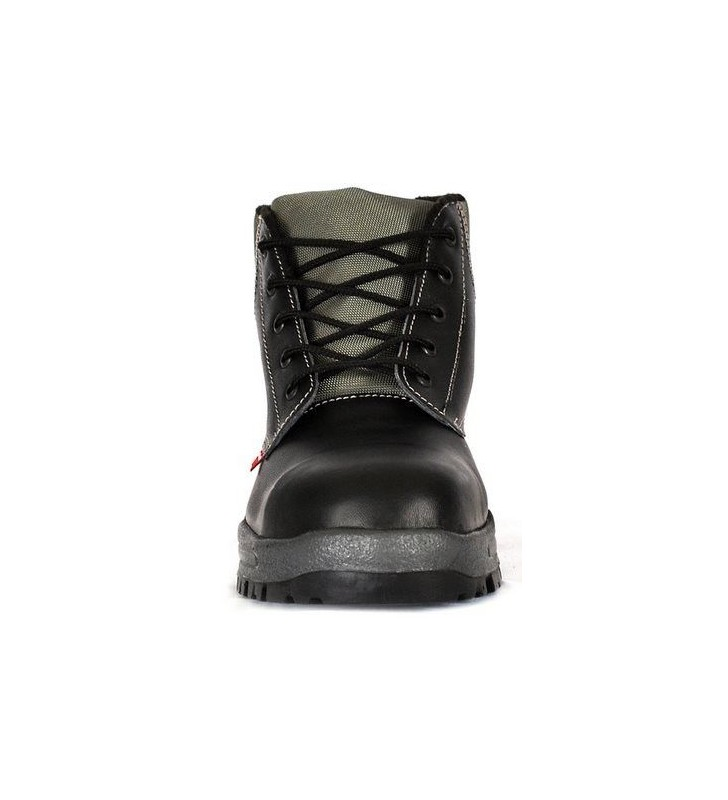 Zafra Black PU Boots Synergy Supplies - 3