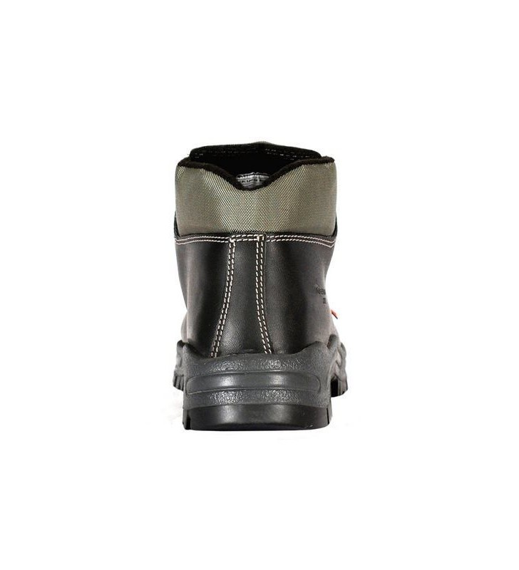 Zafra Black PU Boots Synergy Supplies - 4