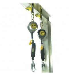 Guardian Heavy Duty Edge Series SRL Self Retracting Fall Protection Single Lanyard With Starter Cover Guardian - 1