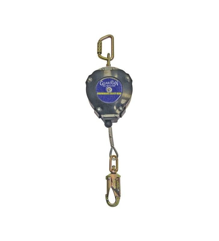 Guardian Heavy Duty Edge Series SRL Self Retracting Fall Protection Single Lanyard With Starter Cover Guardian - 2