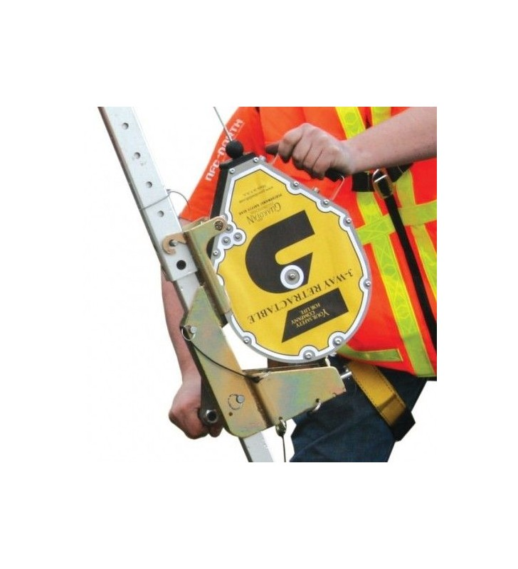 Guardian 3-Way Self Retracting Fall Protection Single Lanyard Rescue Recovery SRL Guardian - 1