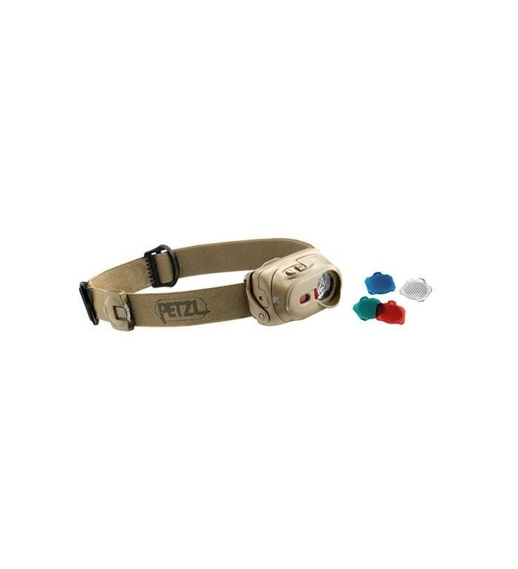 Hands-Free Flashlight 40 Lum 50 Meters 4 Lighting Modes Tactikka Xp Tape Dune Petzl - 1