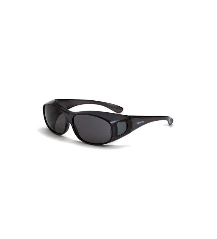 Crossfire Glasses OG-3 Smoke Lens Black Frame Crossfire - 1