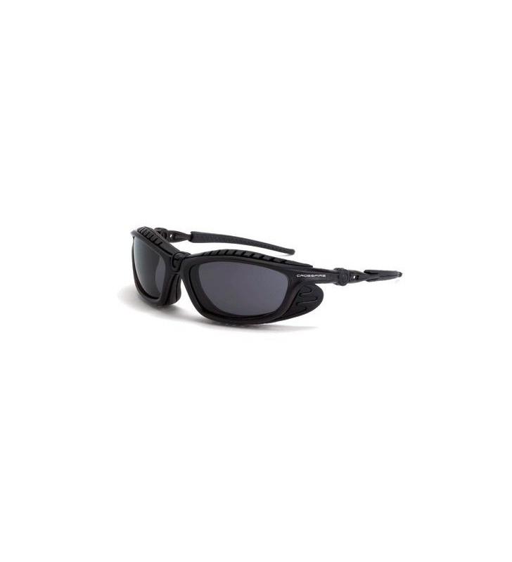 Crossfire Eclipse glasses anti-fog lens smoke black frame Crossfire - 1