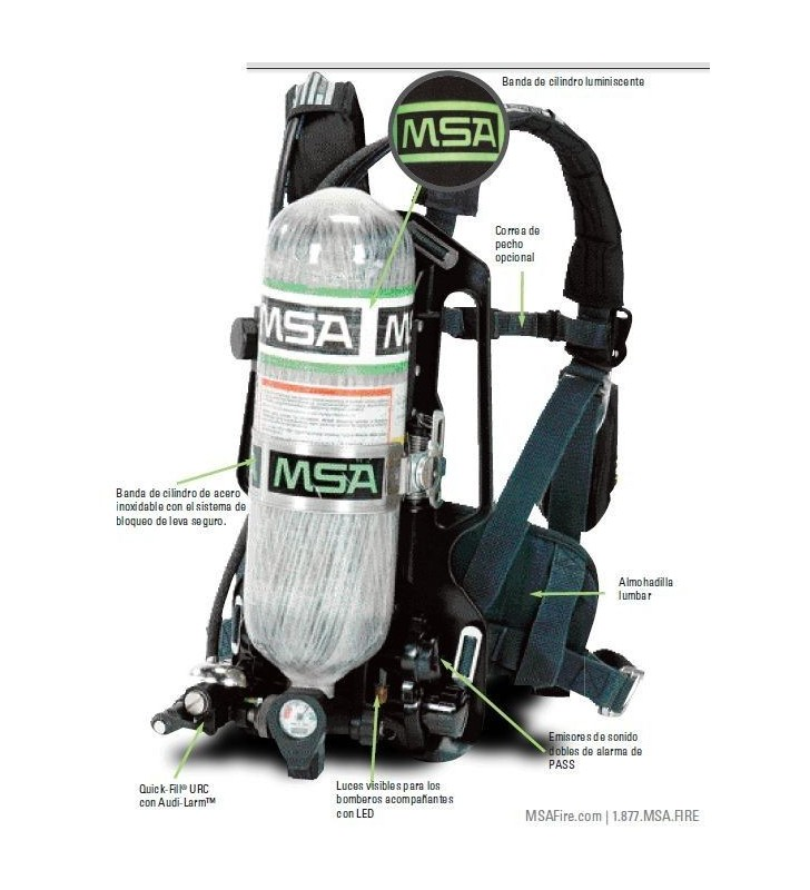 Self Contained AirHawk® II MSA Self Contained Breathing Apparatus MSA - 2