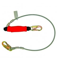 Welder Sling In Guaya With Energy Absorber Cable Lanyard Guardian Guardian - 1